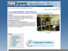 Audio Engineers: Sound Weavers Lesson Plan