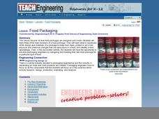 Food Packaging Lesson Plan