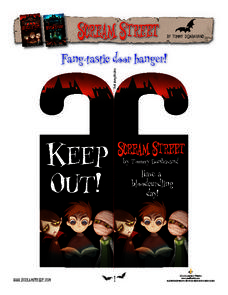 Scream Street Lesson Plan