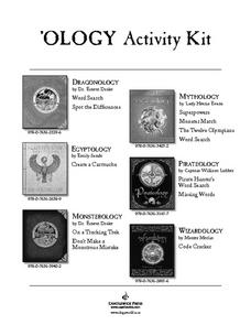 """Ology"" Book Activities Lesson Plan"
