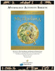 Mythology Activity Sheets Worksheet