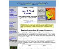 Hoot and Howl: Writing and Revising Halloween Poetry Lesson Plan