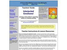 Interjected Emotions! Lesson Plan