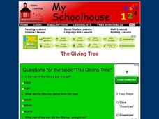 Questions for The Book The Giving Tree Interactive