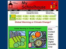 Global Warming or Climate Change? Interactive