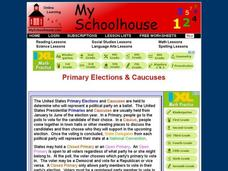 Primary Elections & Caucuses Interactive
