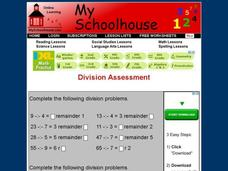 Division Assessment Interactive