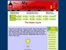 The Water Cycle (Online Interactive Worksheet) Interactive