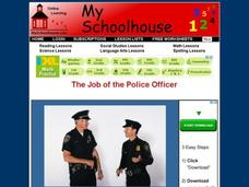 The Job of the Police Officer Interactive