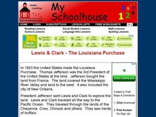 Lewis & Clark: The Louisiana Purchase Interactive