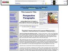 Perspective Paragraphs Lesson Plan