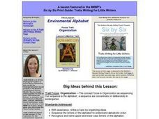 Environmental Alphabet Lesson Plan