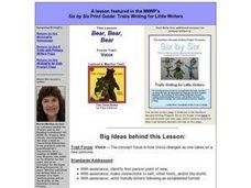 Bear, Bear, Bear Lesson Plan