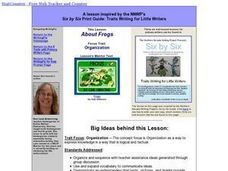 About Frogs Lesson Plan
