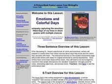 Emotions and Colorful Days Lesson Plan