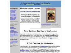 Short Adventure Stories Lesson Plan
