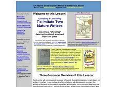 Let Me Show You Nature Lesson Plan