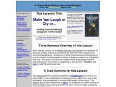 Make 'em Laugh or Cry or... Lesson Plan