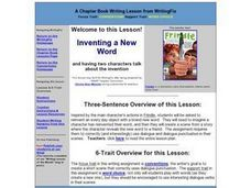 Inventing a New Word Lesson Plan
