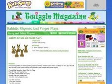 Rabbits Rhymes and Finger Plays Lesson Plan