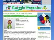 Time Capsule and Other End Of The Year Activities Lesson Plan