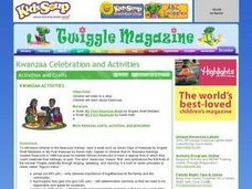 Kwanzaa Activities Lesson Plan