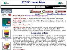 Healthy Choice Shopping Frenzy Lesson Plan