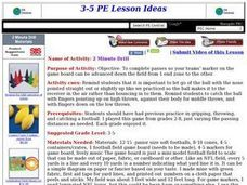 Football-2 Minute Drill Lesson Plan