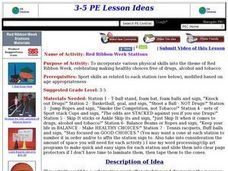 Red Ribbon Week Stations Lesson Plan