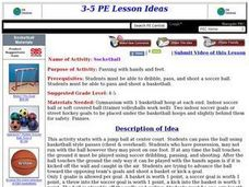 Socketball Lesson Plan
