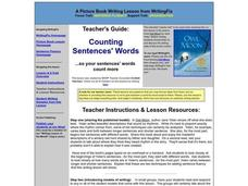 Counting Sentences' Words Lesson Plan