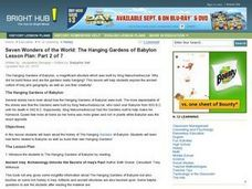 Seven Wonders of the World: The Hanging Gardens of Babylon Lesson Plan