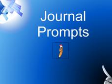 Journal Prompts Lesson Plan