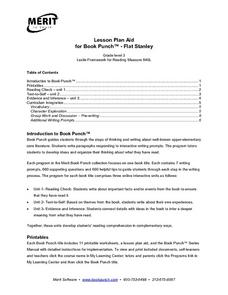 Lesson Plan Aid for Book Punch- Flat Stanley Lesson Plan