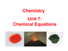 Chemical Equations Presentation