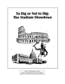 To Dig or Not to Dig: The Stadium Showdown Lesson Plan