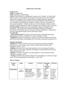 Global Peace Lesson Plan Lesson Plan