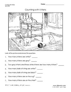 Counting the Kittens Worksheet