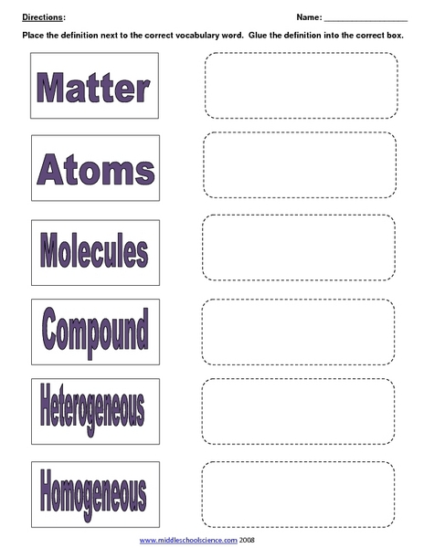 Mixtures And Solutions Worksheets. Worksheets. Newsofthewired ...
