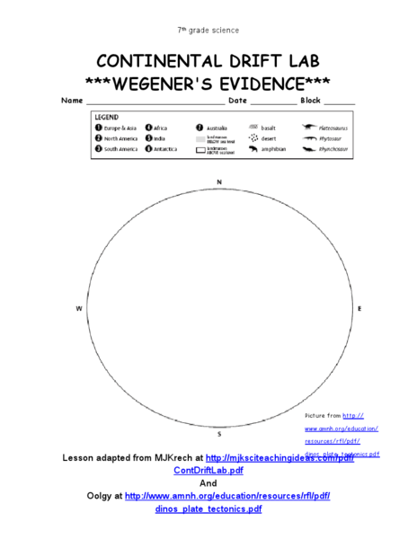 Worksheets Continental Drift Worksheet continental drift worksheets sharebrowse collection of sharebrowse