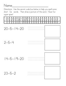 Secret Code Message 2 Worksheet