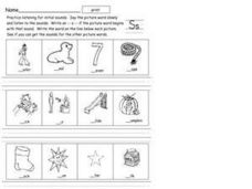 Initial Sound S Worksheet