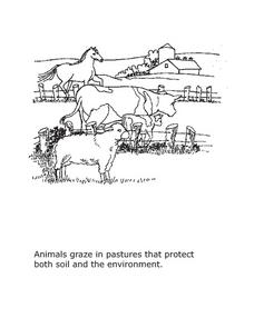 Farm Coloring Sheet 2 Lesson Plan