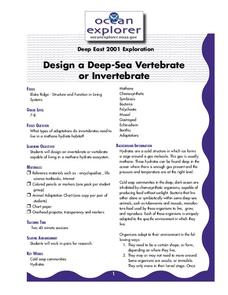 Design a Deep- Sea Vertebrate or Invertebrate Lesson Plan