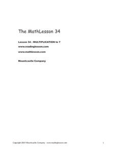 Math Lesson 34 Worksheet