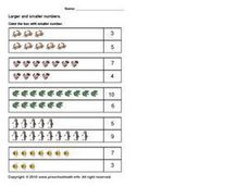Larger and Smaller Pictures 2 Worksheet