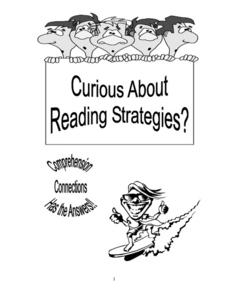 Curious About Reading Strategies? Worksheet