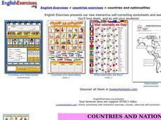 Countries and Nationalities Interactive