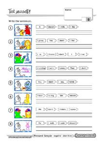 Grammar Test 15 Worksheet