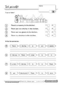 Grammar Test 26 Worksheet